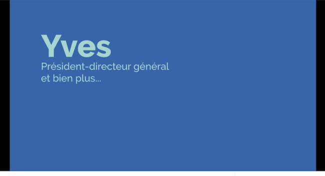 extrait video campagne recrutement Sepanouirensemble du CISSSMO avec PDG Yves via Vimeo CISSSMO