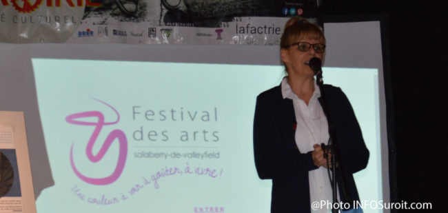 france-chenail-conseillere-ville-valleyfield-festival-arts-photo-infosuroit