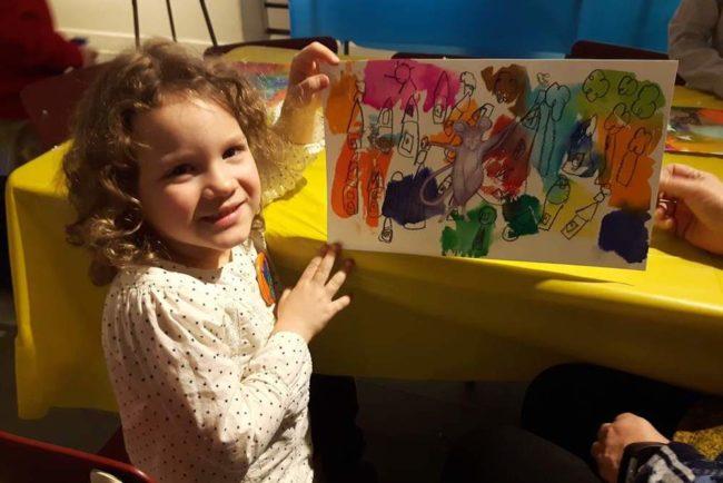 semaine relache Musee Regional Vaudreuil-Soulanges enfant dessin Cyprienne photo MRVS