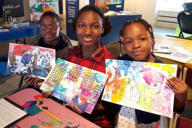 semaine relache Musee Regional Vaudreuil-Soulanges enfants dessins Cypreinne photo MRVS