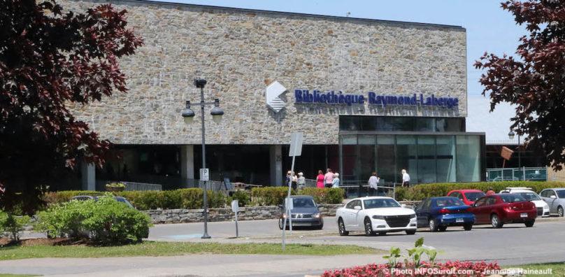 Bibliotheque Raymond-Laberge Ville de Chateauguay juin2019 photo JH INFOSuroit